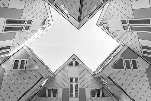 De Kubuswoningen in Rotterdam