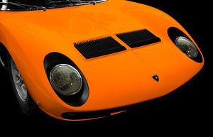 Lamborghini Miura in original orange von aRi F. Huber