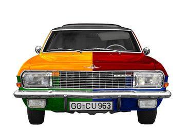 Opel Diplomat A Harlekijn van aRi F. Huber