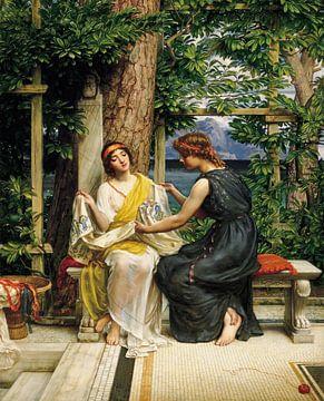 Edward Poynter-Helena und Hermia