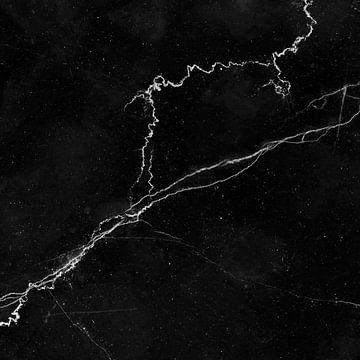 MARBLE BLACK & WHITE v1 van Pia Schneider