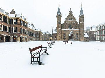 Het Binnenhof in de winter van OCEANVOLTA