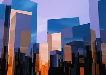 Q-City 1 van Max Steinwald