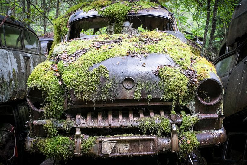 Oldtimer in den Wäldern Schwedens von marcel schoolenberg