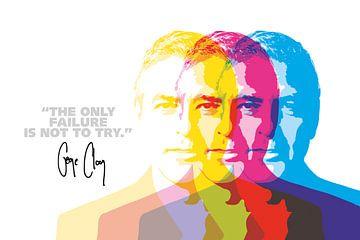 George Clooney Quote van Harry Hadders