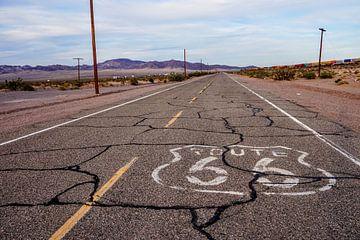 Route 66 van Tineke Visscher