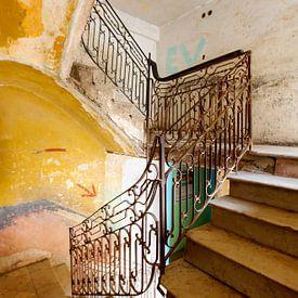 CUBA - TRAPPENHUIS in verval van Marianne Ottemann - OTTI