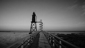 Leuchtturm Obereversand (Nordsee, Wattenmeer)