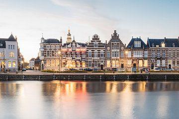 Middelburg - Grachten en monumentale panden van Eleana Tollenaar