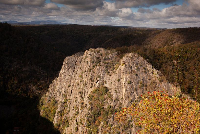 Roßtrappe, Rocks, Brocken, Bodetal, Thale; Harz Mountains van Torsten Krüger