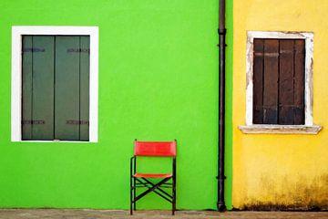 the red chair van Bernd Hoyen