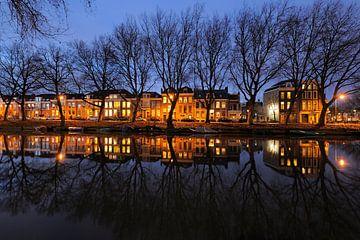 Weerdsingel Oostzijde in Utrecht tussen Hopakker en Bellamystraat von Donker Utrecht