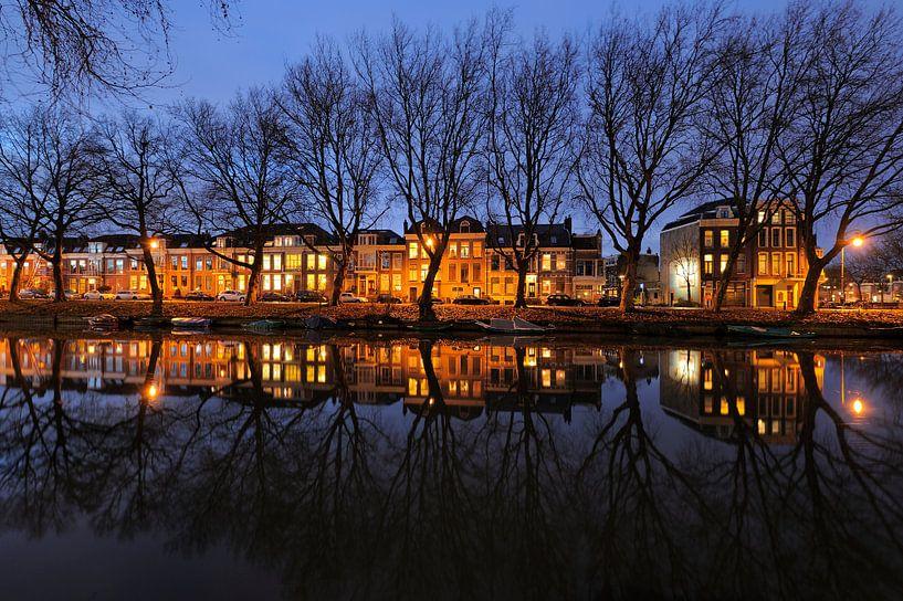 Weerdsingel Oostzijde in Utrecht tussen Hopakker en Bellamystraat van Donker Utrecht