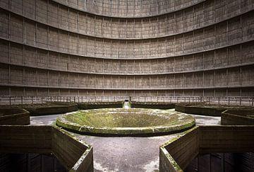 Verlassener Kühlturm. von Roman Robroek