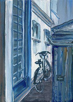 Pariser Fahrrad von sarah Loecker