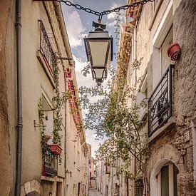 Charakteristische französische Straße von bart dirksen