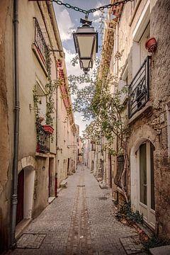 Charakteristische französische Straße