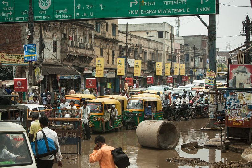 Traffic in India von Stephan Spelde