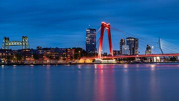 Drie bruggen Rotterdam van Jeroen Kleiberg