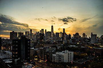 Skyline von New York von Raf Verbraeken