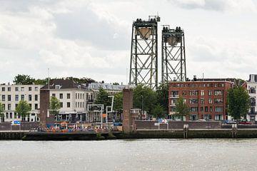 Stadtbild auf dem Noordereiland in Rotterdam von Ruud Morijn