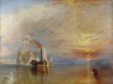 William Turner. The Fighting Temeraire