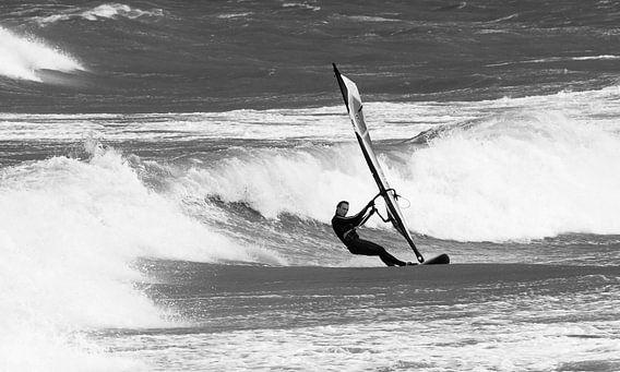 Windsurfen bij Domburg van MSP Photographics