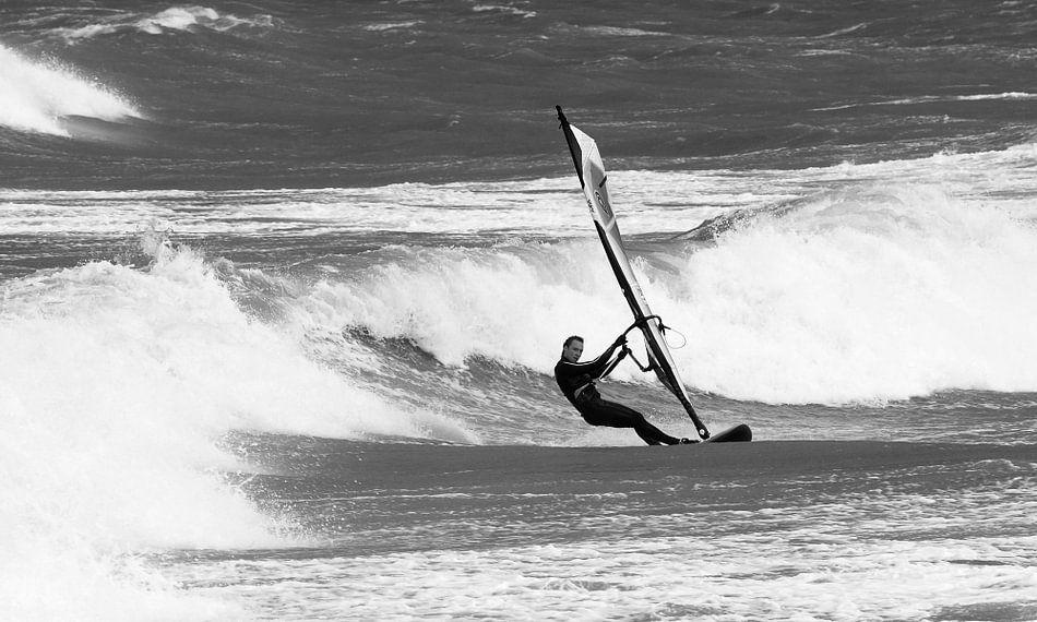 Windsurfen bij Domburg