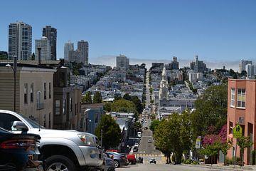 Hoogteverschil in San Francisco van