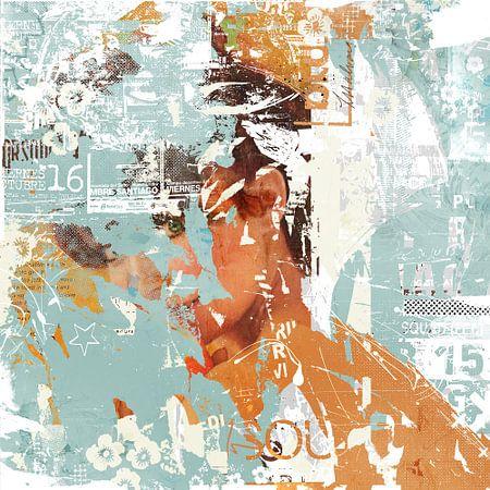 Peeping eye van Teis Albers