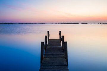 Ein Sonnenuntergang auf der Belterwijde von Wilko Visscher