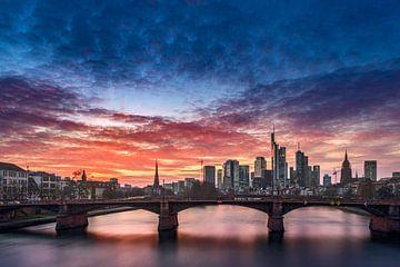 Skyline Frankfurt von Salke Hartung