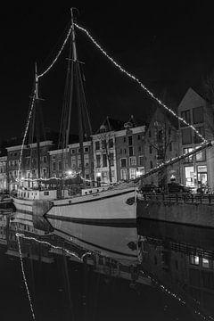 Zeilschip 'Mars' aan de Hoge der A in Groningen von Harry Kors