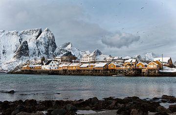 Noorwegen, Sakrisøya von Conny  van Kordelaar