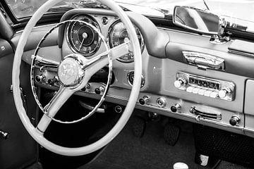 Mercedes-Benz 190SL Roadster interieur van Sjoerd van der Wal