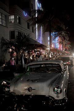 Miami Beach - Oldtimers in South Beach van t.ART