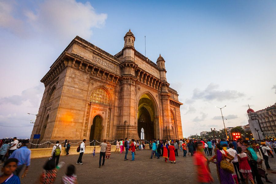 Gateway of India, Mumbai van Jan Schuler