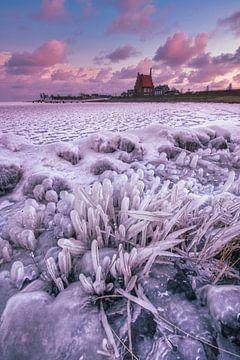 Medemblik in Eis von peterheinspictures