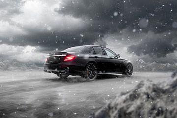 Winter-Edition Mercedes AMG von Maikel van Willegen Photography