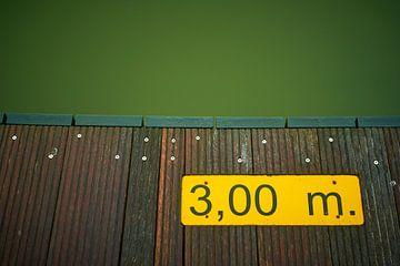 Drie meter diep van Jenco van Zalk