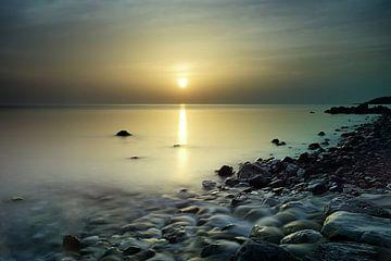 Zonsopkomst Egeische zee von John Leeninga