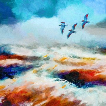 Stürmisch von Jacky Gerritsen