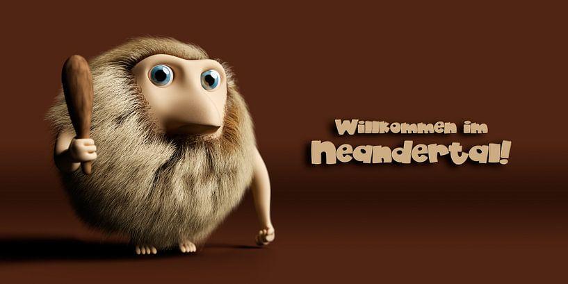 Willkommen im Neandertal! von Jörg Hausmann