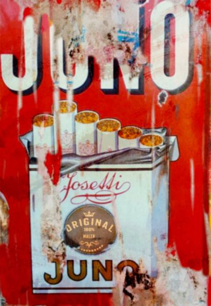 Juno Josetti Vintage Pop Art PUR von Felix von Altersheim