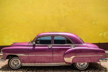Klassieke Amerikaanse auto van mike van schoonderwalt