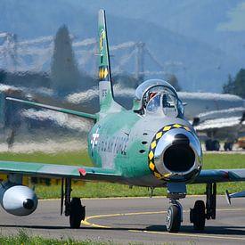 North American F-86 Sabre von Rogier Vermeulen
