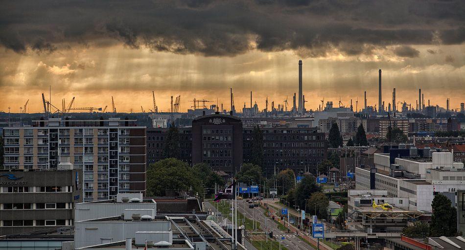 Rotterdam Horizon van Rob van der Teen