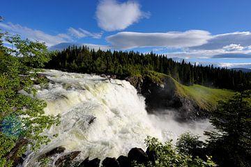 Tännforsen Wasserfall von Lars Tuchel