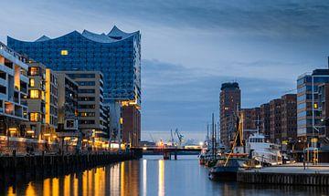 Elbphilharmonie en de historische haven van Hamburg, Hafencity
