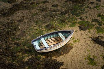 Le bateau bleu sur Marloes van Pareren